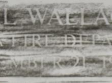 Carl-Wallace-Rubbing
