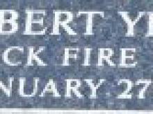 Robert Yeakle Name Plate