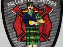 Arkansas Fallen Firefighters Memorial Patch