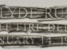Clyde-Russ-Rubbing